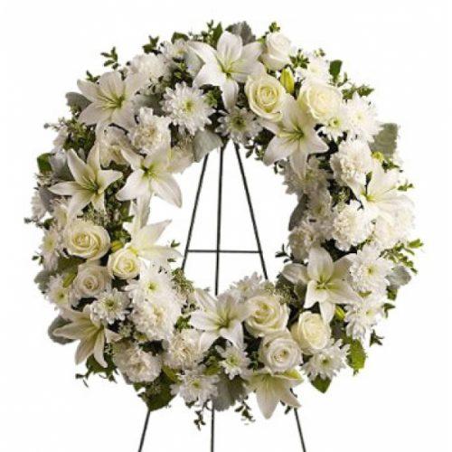 envio corona funeral sagrado corazon