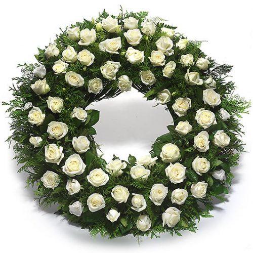 Envio corona funeraria humildad